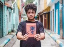 Ribeiro, que lança Reservado, escreve desde os 6 anos. Foto: Lucas Sampaio