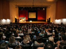 Auricchio anunciou abono em evento com a categoria. Foto: Divulgação/PMSCS