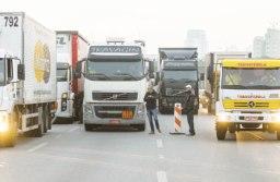Caminhoneiros ainda estão reticentes em repetir movimento realizado no ano passado. Foto: Arquivo