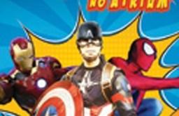 Encontro de fotos com Super-Heróis. Foto: Divulgação