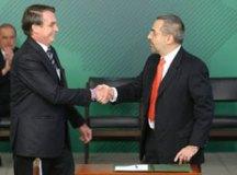 Weintraub foi empossado pelo presidente Jair Bolsonaro em cerimônia no Palácio do Planalto. Foto: Antonio Cruz/ABr