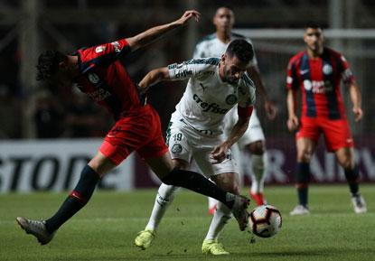 Palmeiras perde jogo e liderança para o San Lorenzo na Libertadores