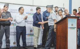 Orlando Morando autoriza reforma do 40º Batalhão da Polícia Militar