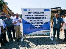 Morando autoriza execução de obras de urbanização integrada na região dos córregos Saracantan e Colina