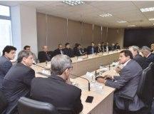Reunião no ministério durou quase quatro horas. Foto: Reprodução/Twitter
