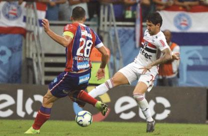 Bahia volta a vencer e elimina o São Paulo