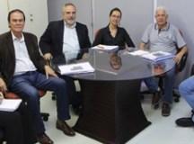Entidade regional recebeu visita de representantes da universidade municipal. Foto: Divulgação/Consórcio ABC