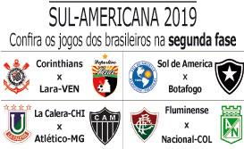 Corinthians pega Deportivo Lara, e Fluminense encara Atlético Nacional na Copa Sul-Americana