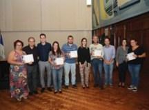 Representantes das entidades receberam certificados de participação na Feira, que reuniu 18 mil visitantes. Foto: Ricardo Trida/ PSA