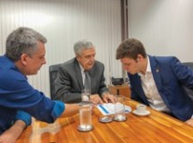 """""""O encontro serviu para entender esse problema e buscar uma solução para que isso não ocorra mais"""", afirmou Thiago Auricchio. Foto: Divulgação"""