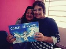 Professora Vanda a direita e a professora presidente  da Associação Jaci Mattos, a esquerda. Foto: Divulgação