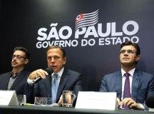 """""""Conseguimos um record histórico na história da cultura brasileira."""", disse o João Doria. Foto: Divulgação"""