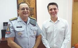 """Coronel Nery e Manente: """"estaremos sempre apoiando as medidas necessárias para gerar a segurança que a população precisa"""". Divulgação"""