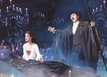 """Com Thiago Arancam e Lina Mendes, """"O Fantasma da Ópera"""" segue em cartaz até 30 de junho. Foto: Divulgação"""