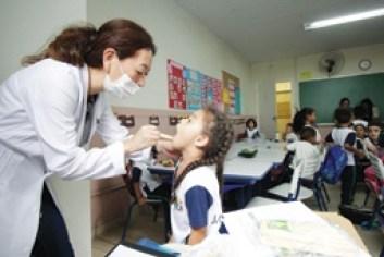 Alunos de escolas municipais de Ribeirão Pires recebem avaliação bucal