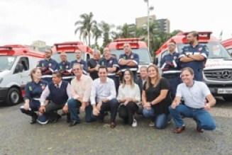 Santo André ganha reforço de cinco novas ambulâncias