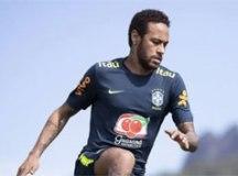 Neymar argumentou que apenas gravou a parte do vídeo na qual explicava a situação e não tinha total conhecimento do restante do material. Foto: Lucas Figueiredo/CBF