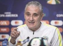 """Tite: """"Trata-se de um jogo decisivo, e a margem de acerto tem de ser alta"""". Foto: Fotos: Pedro Martins/MoWA Press"""