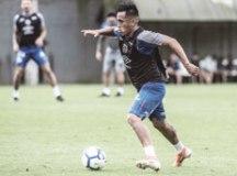 Cueva volta a treinar no Santos, mas não tem retorno garantido ao time contra o Botafogo