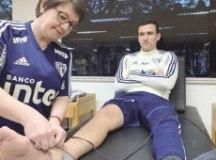 Pablo tem lesão no tornozelo e vira desfalque por um mês