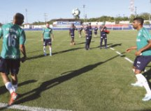 Elenco do Palmeiras treinou, ontem, no CT do Fortaleza. Foto: Cesar Greco/Agência Palmeiras