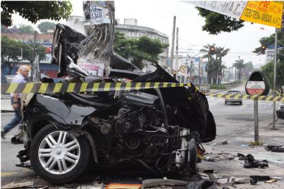 Mortes no trânsito sobem 11,2% nos primeiros seis meses do ano no ABC