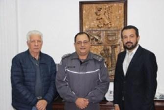 Consórcio ABC visita comando da PM e conhece ações para diminuição da criminalidade na região