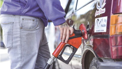 Preço da gasolina varia até  R$ 1,25 nos postos da região