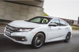 Honda Civic chega à linha 2020 com novidades
