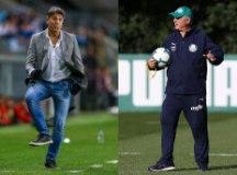 Grêmio e Palmeiras iniciam duelo de técnicos gaúchos na Libertadores