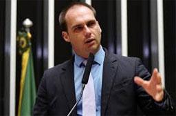 'Serei o embaixador mais cobrado do mundo', afirma Eduardo Bolsonaro