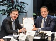 Prefeito Orlando Morando viaja à Alemanha, com o governador João Doria, para buscar investimento para São Bernardo