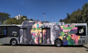 Kobra traz exposição itinerante a Diadema