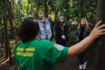 Educação Ambiental de Santo André visita Jardim Botânico de Diadema