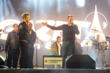 Com o show de aniversário de 466 anos de São Bernardo, Esplanada do Paço recebe 90 mil pessoas e volta a ser palco de grandes eventos