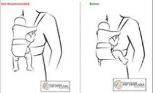 Especialista alerta para cuidados com carregadores de bebê