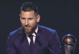 Messi vira o maior vencedor de prêmio da Fifa