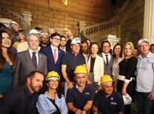 SP inicia restauro do Museu do Ipiranga