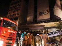 Sobe para 12 número de mortos em incêndio do hospital Badim