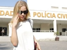Najila Trindade depõe no Rio sobre postagens em rede social de Neymar