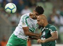 Palmeiras vence Chapecoense com gol de Felipe Melo no último lance
