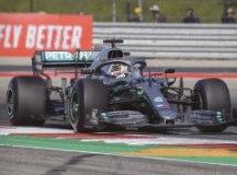 Com 'fome de título', Hamilton lidera segundo treino livre do GP dos EUA