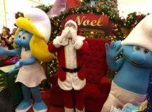 Mais de 4 mil pessoas prestigiam chegada do Papai Noel no Atrium