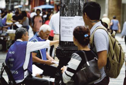 País tem taxa de informalidade de 40,7% no trimestre até janeiro