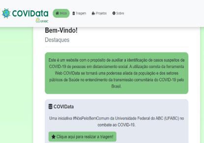 Consórcio e UFABC lançam plataforma para mapear covid-19
