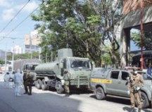 Exército participa do combate ao covid-19 em Diadema