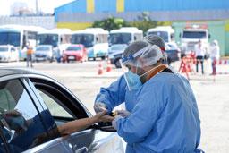 São Caetano amplia testagem em massa para feirantes, funcionários da Vipe e profissionais de Saúde sem vínculo com a Prefeitura