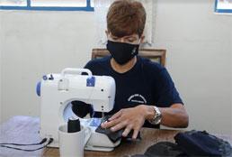 GCM de Santo André transforma uniformes antigos em duas mil máscaras