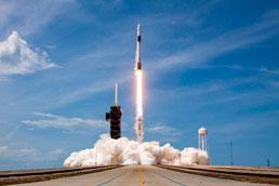 Foguete da SpaceX chega à Estação Espacial Internacional