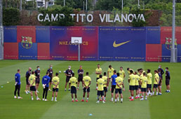 Equipes voltam a fazer treinos coletivos e sem restrições na Espanha